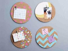 Best DIY Gifts for Girls - DIY Cork Pin Board - Cute Crafts and DIY Projects that Make Cool DYI Gift Ideas for Young and Older Girls, Teens and Teenagers - Awesome Room and Home Decor for Bedroom, Fashion, Jewelry and Hair Accessories - Cheap Craft Projects To Make For a Girl for Christmas Presents http://diyjoy.com/diy-gifts-for-girls