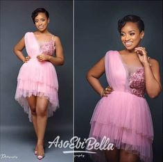 An is a wedding guest {bella} looking stunning in aso-ebi – the fabric/colors of the day, at a - AsoEbi Bella. African Lace Styles, Short African Dresses, African Inspired Fashion, Latest African Fashion Dresses, African Print Dresses, African Print Fashion, Lace Dress Styles, African Traditional Dresses, African Attire
