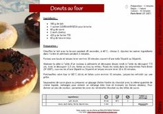 Donuts au four Tupperware, Mini Donuts, Beignets, Crepes, Brunch, Dessert Recipes, Food And Drink, Beef, Cooking