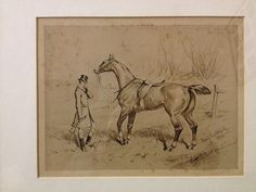 Basil Nightingale Print  Hard Luck A Good Thing Back Overeach & His Best Horse