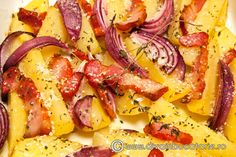 Nothing found for Category Cartofi 2 Page 5 Romanian Food, Hawaiian Pizza, Quick Easy Meals, Carne, Food To Make, Breakfast Recipes, Bacon, Deserts, Food And Drink