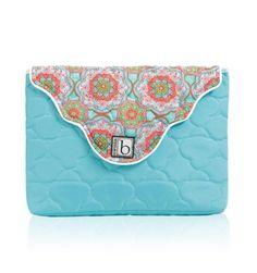 Cinda B Laptop Sleeve Casablanca Sky Blue * Casual « Clothing Impulse