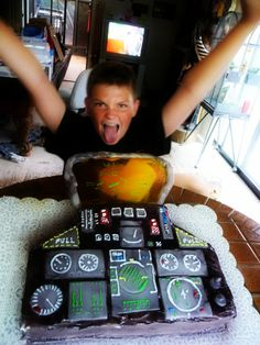 Jet Fighter Cake