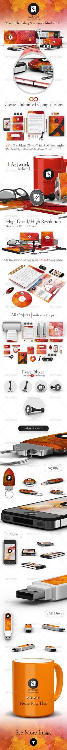 Rough Massive Branding/Stationary Kit