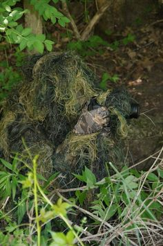 Ghillie Suit for Photography