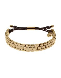 Gold-Tone Watch-Band Bracelet | Lord and Taylor