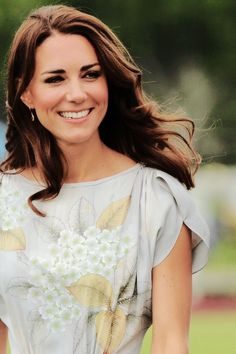 July 9, 2011: Catherine, Duchess of Cambridge smiles as she attends The Foundation Polo Challenge held at the Santa Barbara Polo & Racquet Club.
