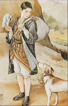 Gato Animal, Japanese Illustration, Yayoi, Japanese Art, Fairy Tales, Museum, Manga, Dogs, Painting