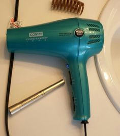 Photo challenge: cannot live with out my hair dryer and mascara!