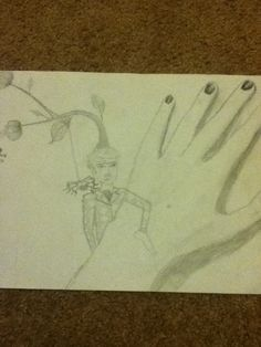 Something I drew when I was feeling extra weird.