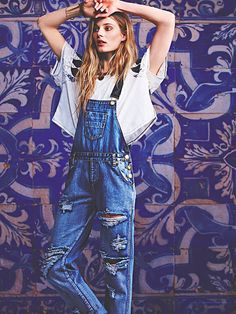 9917daca4d75 ONE by One Teaspoon Zeppelin Overall at Free People Clothing Boutique Denim  Jeans
