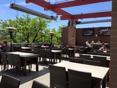 Red Fox English Pub - 100 S Main St, Royal Oak <br/> <p>This spot gets points for its individual fire pits that are surrounded by loungey seating, late-night kitchen hours and decent draft and bottled beer list. (Photo via Facebook)