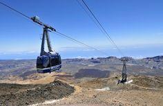 funicular Mount Teide Tenerife, Spain Teleférico del Teide