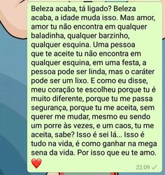 TOMAAAAAAAAAAAAAAAAAAAAAAA PARA TODOS AQUELES QUE ACHAM QUE BELEZA RESUME TODO MUNDO!!! I Love You, My Love, Motivational Phrases, Texts, Crushes, Romantic, Thoughts, Feelings, Prints