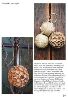 acorn christmas decoration