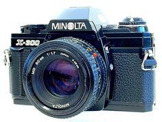 Minolta X-300 35mm SLR Film Camera - ImagingPixel