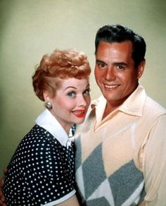 seeing Lucy & Ricky in color is always quite jarring.