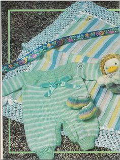 Receitas de trico fáceis de fazer e com passo a passo e video explicativo Baby Cardigan, Baby Patterns, Knitting Patterns, Baby Knitting, Crochet Baby, Diy And Crafts, Kids Outfits, Rompers, Tops