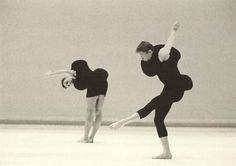 Costumes by Rei Kawakubo for Merce Cunningham's choreography, Scenario, 1997