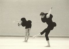 Costumes by Rei Kawakubo forMerce Cunningham's choreography,Scenario, 1997