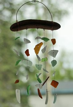 Sea Glass Suncatcher Windchimes