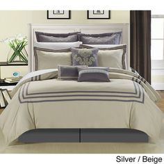 Cosmo Hotel Collection 8-piece Comforter set | Overstock.com Shopping - The Best Deals on Comforter Sets