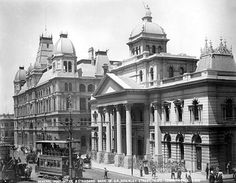 General Post Office and Standard Bank of South Africa, Adderley Street 1898 | Flickr - Photo Sharing!