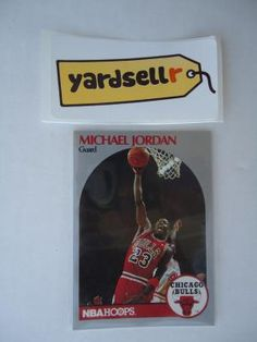1990-91 Hoops Michael Jordan Basketball Card