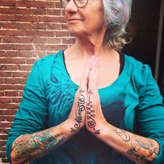 Beautiful person tattooed by Sivanski Shushan...