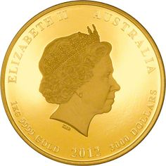 One kilo gold proof Diamond Jubilee coin obverse. Limited edition of just 60. Pre-release price is £36,500