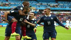 BRASIL 2014.ASÍ Francia goleó 3-0 a Honduras con doblete de Benzema por el Mundial Brasil 2014 http://hbanoticias.com/9354