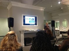 Social media and design with @Robert Allen Design in #Boston #DwellStudio