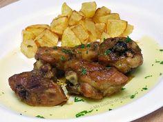 Pollo al ajillo con salsa de soja y miel - Mis Cosillas de Cocina