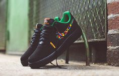 "Nike Air Force 1 Low ""Peace"" (Urban Jungle Gym) - EU Kicks: Sneaker Magazine"