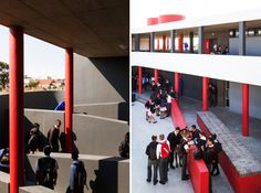 Kensington High School - circulation School Design, Schools, South Africa, High School, Urban, Grammar School, School, High Schools, Secondary School