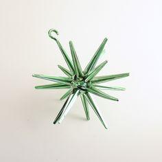 Vintage Christmas Ornament Sputnik Star Mid Century Space Age by efinegifts on Etsy
