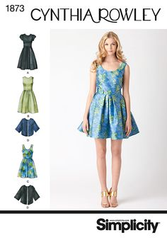 Simplicity Creative Group - Misses' & Miss Petite Dresses Cynthia Rowley Collection
