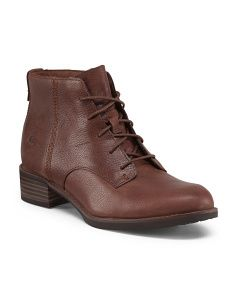Leather Beckwith Lace Chukka Bootie