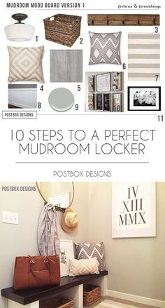 Free Building Plans for Mudroom Lockers by Postbox Designs E-Design, 10 Steps to the Perfect Mudroom Locker