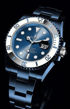 Men watches: Watch What If: Rolex Submariner watch what if | Raddest Men's Fashion Looks On The Internet: http://www.raddestlooks.org