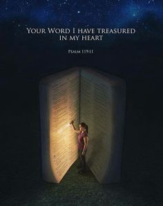 Paul Wilbur  Your Word I have treasured in my heart. Psalm 119:11