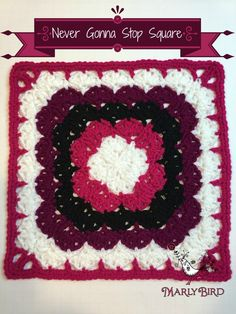 Never Gonna Stop Square, free crochet pattern by Marly Bird for 2015 American Crochet Afghan Crochet-a-Long