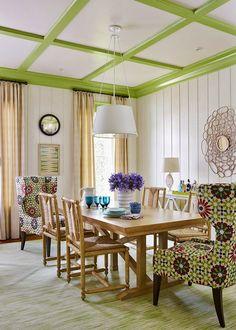 8 increíbles comedores con butacones orejeros (a cual más bonito) · 8 amazing dining rooms with wingback chairs