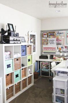 Craft Room Reveal - HoneyBear Lane