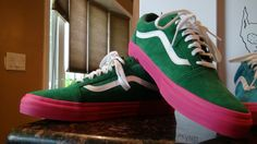 24c231a3e2dc Odd Future Golf Wang X Vans Syndicate Old Skool Pro Green
