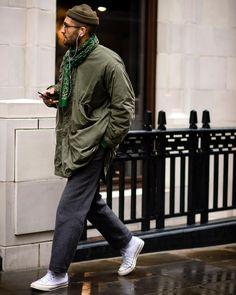 Die beste Street Style Inspiration & mehr Details, die den Unterschied ausmache The best street style inspiration & more details that make the difference Street Style Inspiration, Stil Inspiration, Fashion Inspiration, Looks Style, Looks Cool, Men Looks, Look Fashion, Trendy Fashion, Mens Fashion