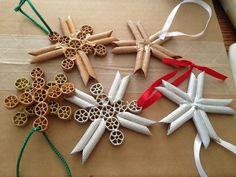 Noodle ornaments