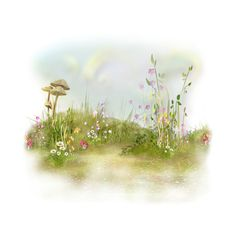NLD Overlay 4.png ❤ liked on Polyvore featuring backgrounds, flowers, grass, nature and tubes