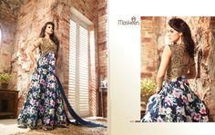 huge #Maisha #Maskeen #DesignerSuit #FloorLength #SalwarKameez #DressMaterials #buy #online here