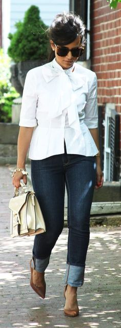 Navy And White Styling